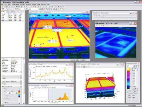 infrared camera software thermography suite
