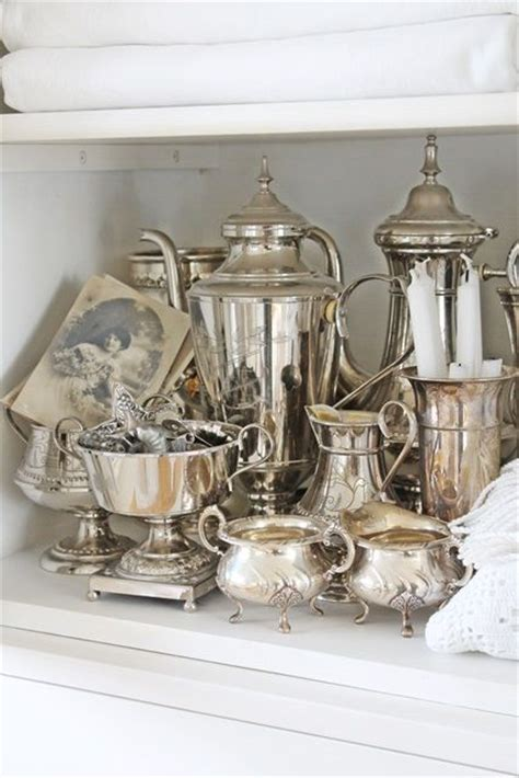 exquisite vintage silver decor ideas shelterness
