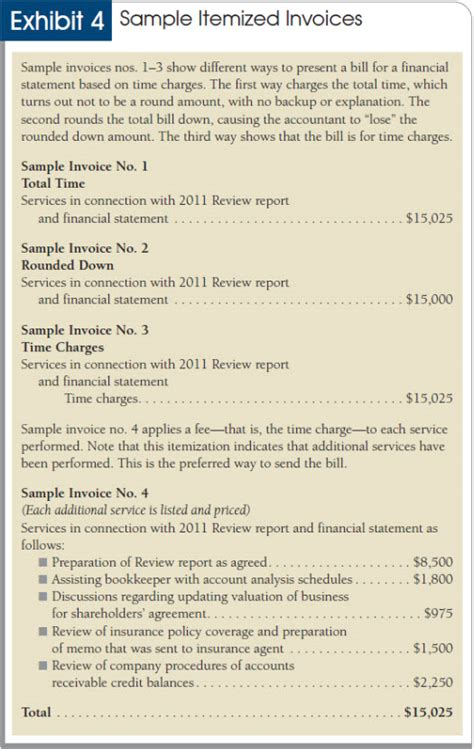 pricing billing  collecting fees