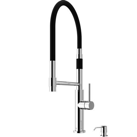 vigo norwood magnetic single handle pull sprayer