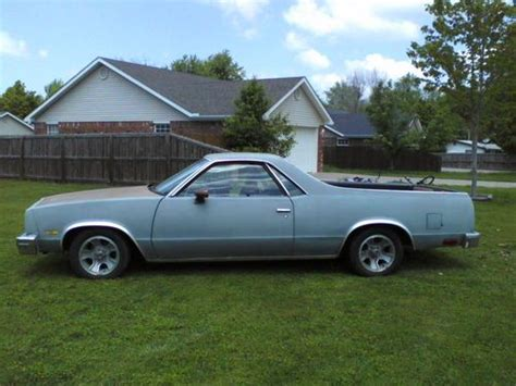 Find Used 1982 Chevy El Camino Project 350 V8 Auto Ac Ps