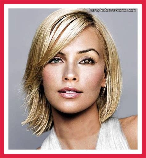 hairstyle  face short neck hair