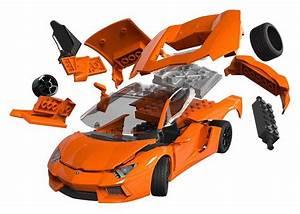 Airfix Quick Build Lamborghini Aventador Car Model Kit ...