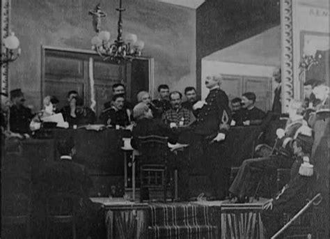 georges melies l affaire dreyfus file m 233 li 232 s l affaire dreyfus le conseil de guerre en
