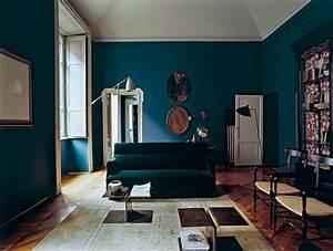 Tapis Bleu Petrole : salon bleu p trole bleu canard et bleu paon ~ Teatrodelosmanantiales.com Idées de Décoration