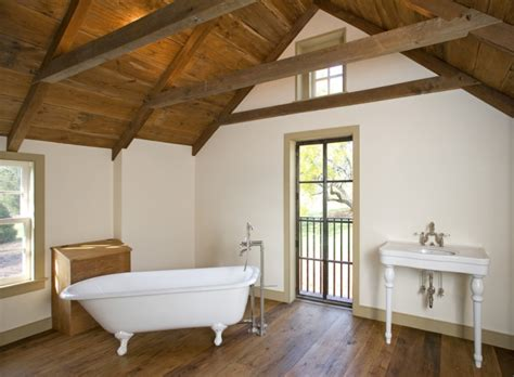 18+ Vaulted Ceiling Bathroom Designs, Ideas