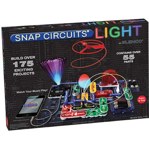 Snap Circuits Light by Elenco Snap Circuits Light Set By Elenco On Barstons