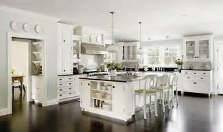 white kitchen black island black and bleu designs white kitchens