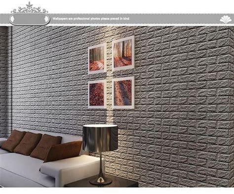 Brick 3d Wallpaper Sticker by Neworldline 3d Brick Wall Sticker Self Adhesive Foam