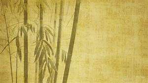 Bamboo digital art oriental drawings backgrounds simple ...