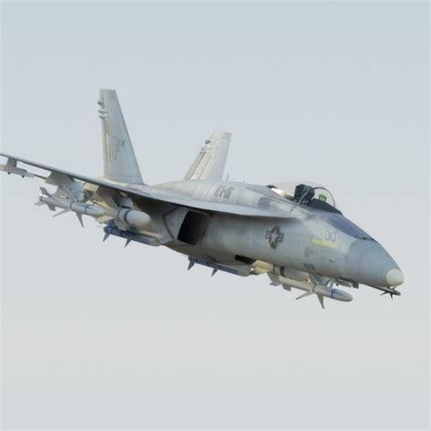 F18e Hornet Fa18e Superhornet Obj