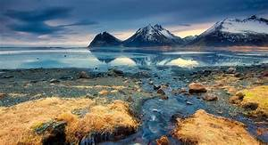 Blue, Water, Iceland, Nature, Landscape, Reflection
