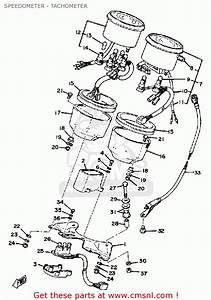Yamaha Xs1100s 1979 Usa Speedometer - Tachometer