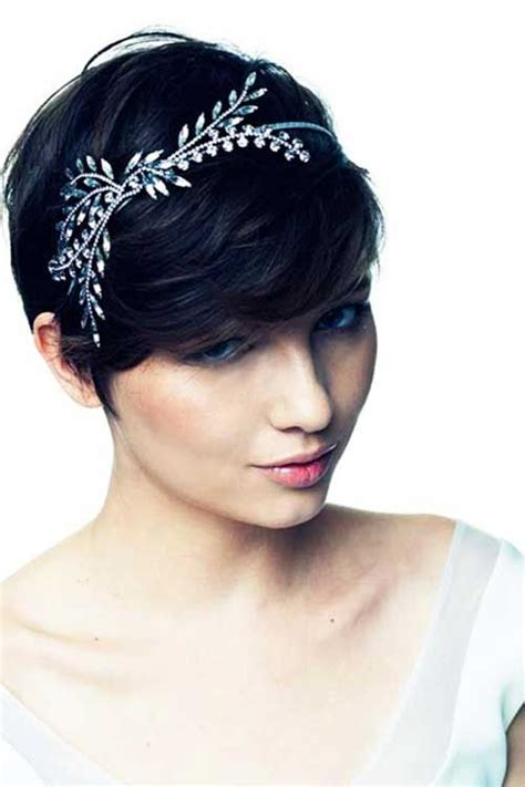 Prom Hairstyles For Pixie Cuts by Pin By Mckenzi On Hairstyles Pixie Wedding
