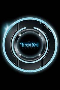 Free Download TRON Light Disc iPhone HD Wallpaper