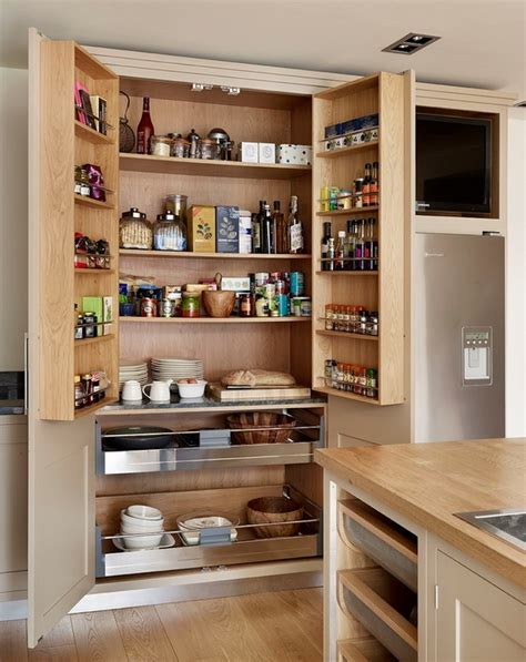 kitchen cabinet shelving ideas 30 kitchen pantry cabinet ideas for a well organized kitchen 5761