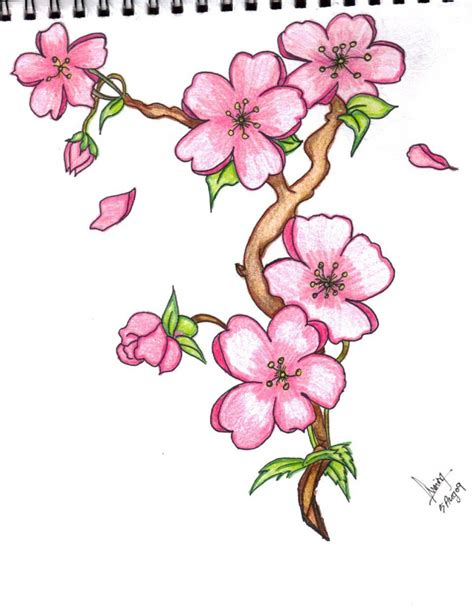 Cool Flower Drawings Easy Flower Pictures To Draw
