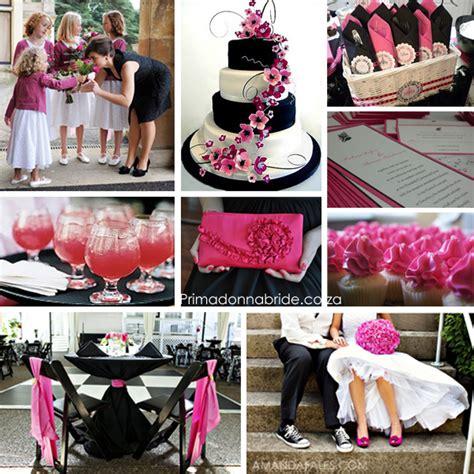 eduarda s black with pink sash black wedding reception this pretty much i