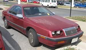 Chrysler Le Baron Cabriolet : chrysler lebaron ii 1981 1989 coupe outstanding cars ~ Medecine-chirurgie-esthetiques.com Avis de Voitures