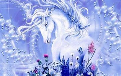 Unicorn Magical Unicorns Creatures Fanpop Fantasy Background