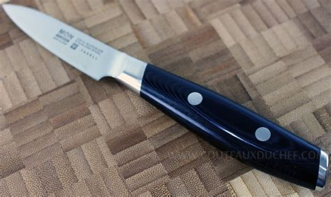 couteau cuisine damas couteau office cuisine japonais yaxell mon damas 8cm