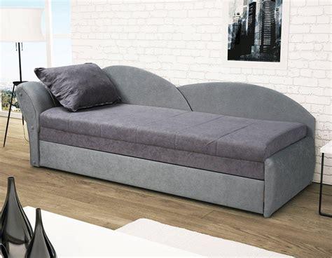 canapé lit coffre canap lit gris pas cher avec rangement pour oreillers