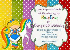 Generic Party Invitations Unicorn 5th Birthday Invitations Free Printable Birthday