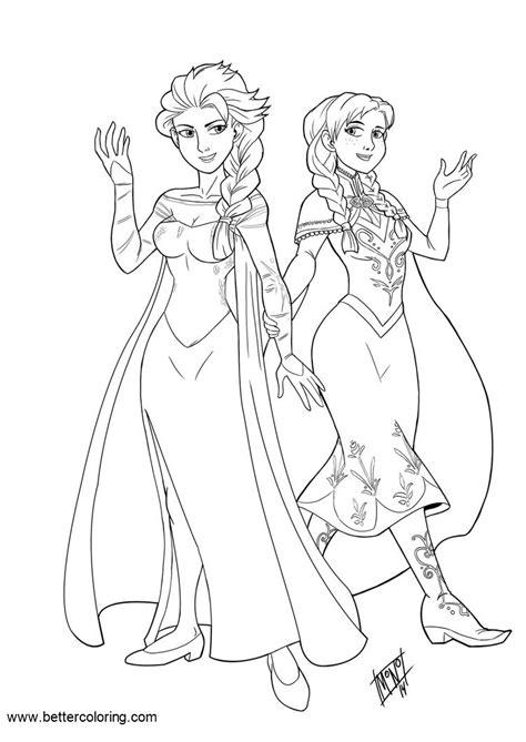 disney princess elsa coloring pages  mono phos