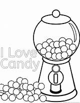 Candyland Candies Coloringhome sketch template