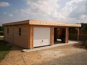 garage a toit plat maison toit plat archives page sur With attractive abri de jardin contemporain 7 carport archives carport