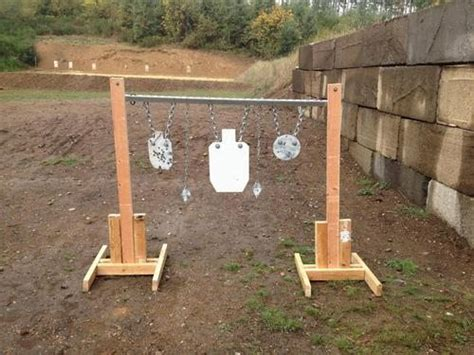 steel plate target stand  hanging target stand