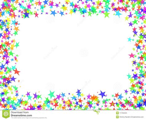 Stars frame stock photo. Image of festive, occasion, abstract   11755424