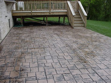 cost to remove concrete patio decor decorating sted concrete patio cost for home design