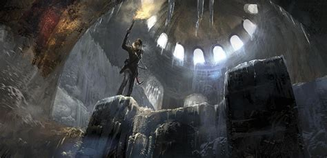New Rise Of The Tomb Raider Artwork Released
