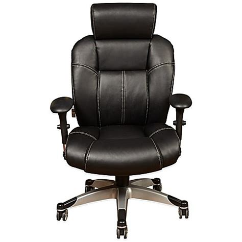 bed bath and beyond desk chair sealy posturepedic independent arm high back office chair