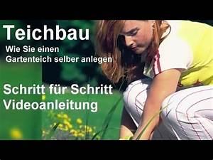 Schlammsauger Teich Selber Bauen : teichbau schritt f r schritt videoanleitung gartenteich ~ A.2002-acura-tl-radio.info Haus und Dekorationen