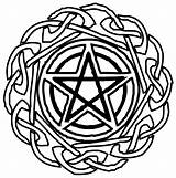 Wiccan Star Coloring Pages Lycan Pentacle Tat Spirit Celtic Tattoo Deviantart Pentagram Tattoos Pyrography Pagan Designs Mandala Template Knots Patterns sketch template