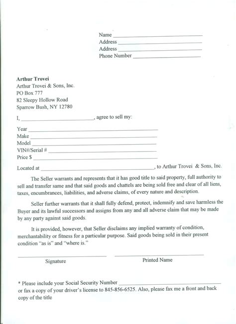 where do i get a bill of sale form printable sle tractor bill of sale form laywers