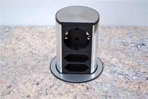 versenkbare steckdose küche evoline power port versenkbare steckdose steckdose kaufen bei küche bad