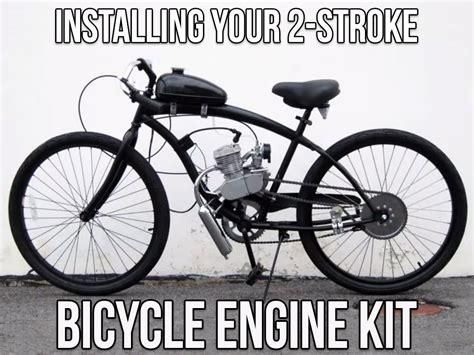 installing your 2 stroke bike engine kit bikeberry