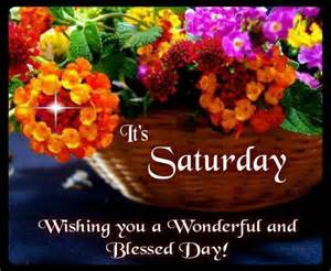 Happy Saturday Morning Blessings