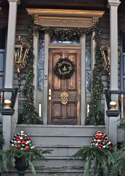 christmas decorated porches 30 amazing front porch christmas decoration ideas godfather style