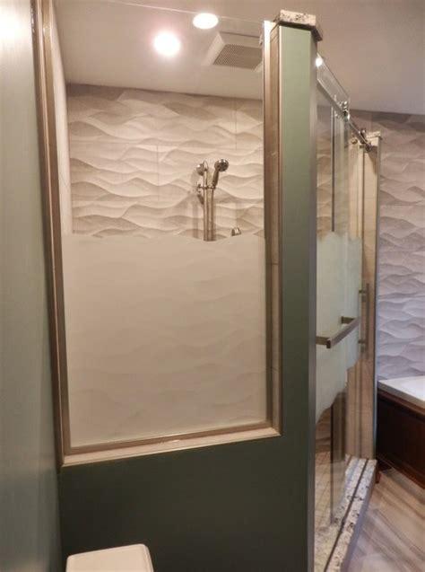 porcelanosa ona wave tile master bath contemporary