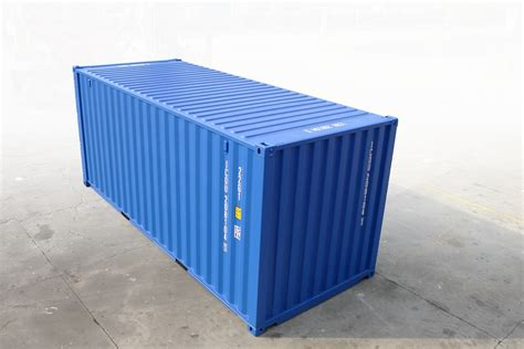 Aus Containern by 20 Gentian Blue Neucontainer