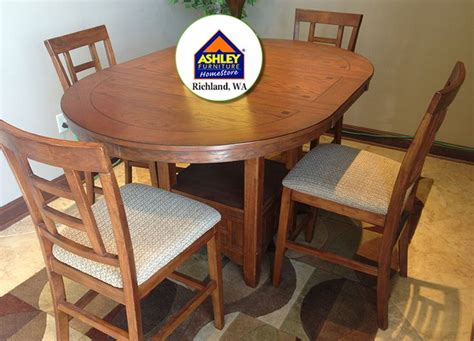 clearance dining room sets cross island dining room set table 4 chairs floor model clearance at your local