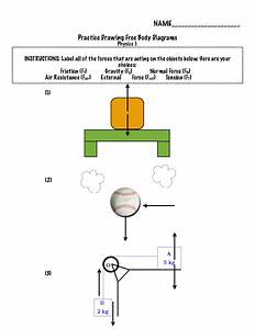 Practice Physics Free Body Diagram