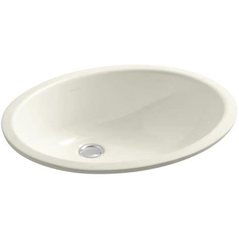 kitchen sink overflow kohler caxton vitreous china undermount bathroom sink with 2806