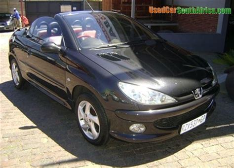 peugeot sa used cars 2005 peugeot 206 2005 peugeot 206 2 0 coupe cabriolet used