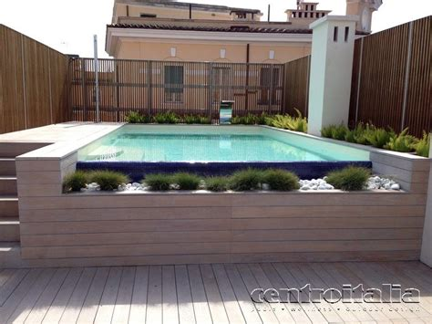 piscina terrazzo piscine da terrazzo costruzione piscine in terrazzo
