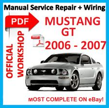 free auto repair manuals 2006 ford mustang free book repair manuals ford mustang car service repair manuals for sale ebay